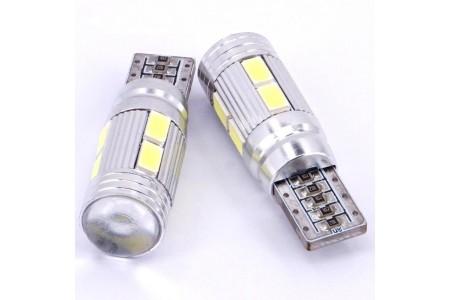 iDial 487 T10 10LED 3030 SMD 6000K 12V CANBUS