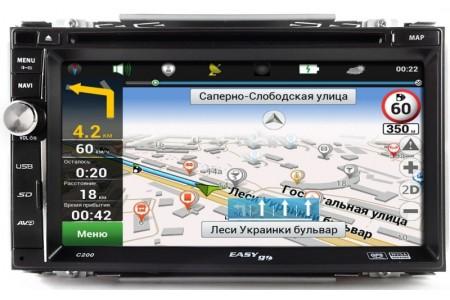 Автомагнитолы с GPS навигацией