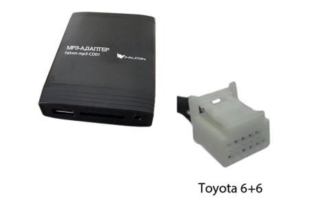Falcon MP3-CD01 Toyota 2004+ (12 pin)