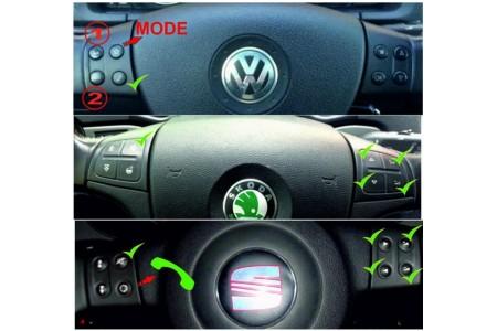 ParCan CAN 8Key Timer (интерфейс руля и камеры VW, Seat, Skoda)